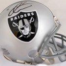 Derek Carr Autographed Signed Oakland Raiders Mini Helmet JSA