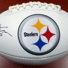 Antonio Brown Signed Autographed Pittsburgh Steelers Logo Football BECKETT