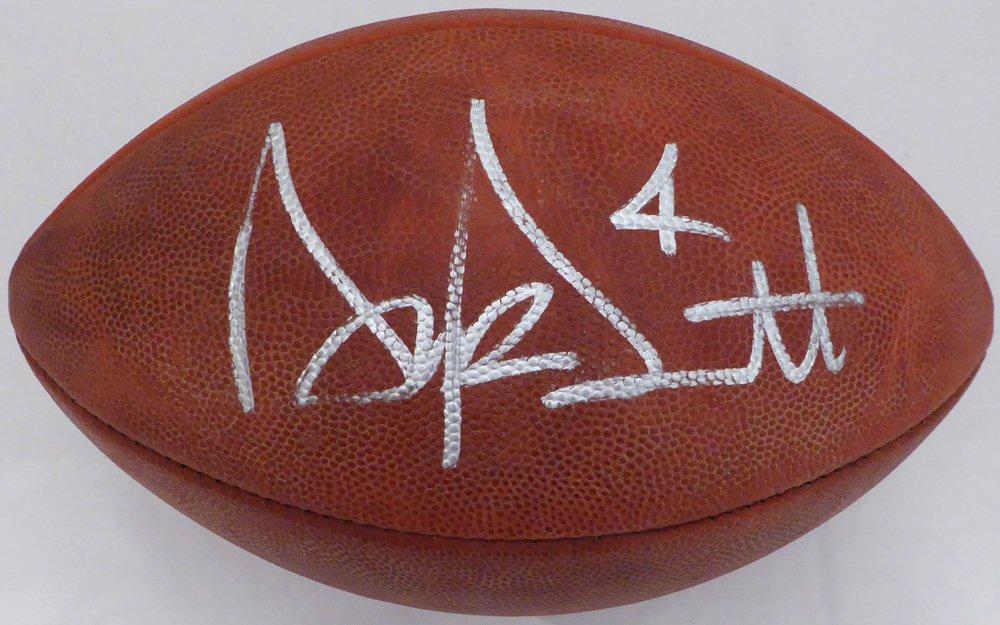 Dak Prescott Dallas Cowboys Autographed Signed NFL Leather Football BECKETT