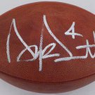 Dak Prescott Dallas Cowboys Autographed Signed NFL Leather Football BECKETT
