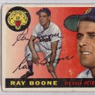 Ray Boone Detroit Tigers Signed Autographed 1955 Topps Card PSA