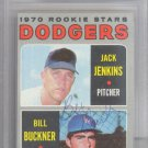 Bill Buckner Los Angeles Dodgers Signed Autographed 1970 Topps Rookie Card BECKETT