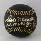 Dale Murphy Atlanta Braves Autographed Signed Black Baseball BECKETT