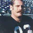 Ben Davidson Oakland Raiders Signed Autographed 8x10 Photo PSA