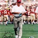 Bobby Bowden Florida State Seminoles Autographed Signed 8x10 Photo BECKETT