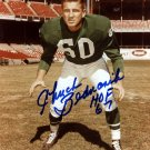 Chuck Bednarik Philadelphia Eagles Autographed Signed 8x10 Photo BECKETT
