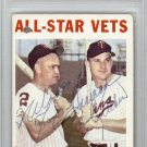 Harmon Killebrew & Nellie Fox Signed Autographed 1964 Topps Card PSA