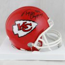 Tony Gonzalez Signed Autographed Kansas City Chiefs Mini Helmet JSA