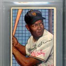 Monte Irvin New York Giants Signed Autographed 1952 Bowman Card BECKETT
