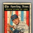 Bob Allison Washington Senators Autographed Signed 1959 Topps Rookie Card PSA