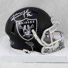 Khalil Mack Autographed Signed Oakland Raiders Blaze Mini Helmet JSA