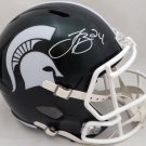 LeVeon Bell  Autographed Signed Michigan State Spartans Full Size Helmet BECKETT