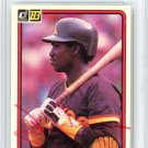 Tony Gwynn San Diego Padres Signed Autographed 1983 Donruss Rookie Card BECKETT