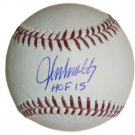 John Smoltz Braves Signed Autographed MLB Baseball JSA
