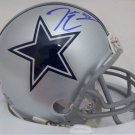 Demarcus Lawrence Autographed Signed Dallas Cowboys Mini Helmet BECKETT