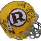 "Washington Redskins ""Hogs"" Autographed Signed Redskins Mini Helmet JSA"