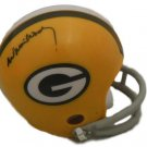 Willie Wood Signed Autographed Green Bay Packers Mini Helmet JSA