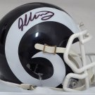 Todd Gurley Signed Autographed Los Angeles Rams Mini Helmet BECKETT
