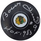 Bobby Hull Autographed Signed Chicago Blackhawks Hockey Puck BECKETT
