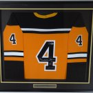 Bobby Orr Autographed Signed Framed Boston Bruins Jersey BECKETT