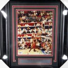 Michael Jordan Chicago Bulls Autographed Signed Framed 8x10 Photo PSA