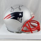 Sony Michel Autographed Signed New England Patriots Mini Helmet JSA
