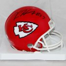Kareem Hunt Signed Autographed Kansas City Chiefs Mini Helmet JSA