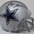 Roger Staubach Signed Autographed Dallas Cowboys Mini Helmet BECKETT