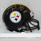 TJ Watt Autographed Signed Pittsburgh Steelers Mini Helmet JSA