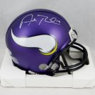 Adam Thielen Autographed Signed Minnesota Vikings Mini Helmet BECKETT