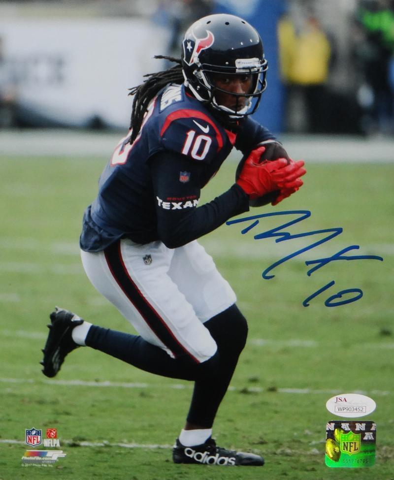 DeAndre Hopkins Autographed Signed Houston Texans 8x10 Photo JSA