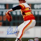 Nolan Ryan Houston Astros Signed Autographed 8x10 Photo BECKETT