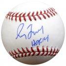 Greg Maddux Braves Cubs Signed Autographed MLB Baseball JSA COA