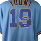 Robin Yount Signed Autographed Milwaukee Brewers Jersey PSA/DNA