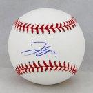 George Springer Houston Astros Autographed Signed Official Major League Baseball BECKETT