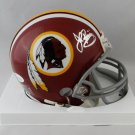 John Riggins Autographed Signed Washington Redskins Mini Helmet JSA