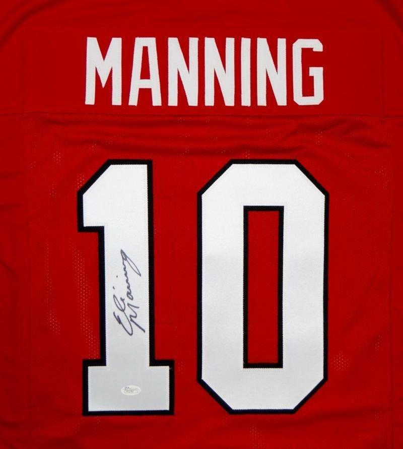 Eli Manning Autographed Signed Ole Miss Rebels Jersey JSA