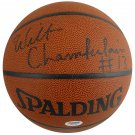 Wilt Chamberlain Los Angeles Lakers Signed Autographed Spalding Basketball PSA