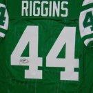 John Riggins Autographed Signed New York Jets Jersey JSA COA
