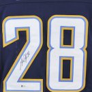 Melvin Gordon Autographed Signed Los Angeles Chargers Jersey BECKETT