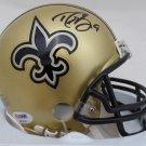 Drew Brees Autographed Signed New Orleans Saints Mini Helmet PSA