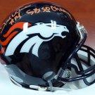 DeMarcus Ware Autographed Signed Denver Broncos Mini Helmet BECKETT