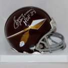 Sonny Jurgensen Autographed Signed Washington Redskins Mini Helmet JSA