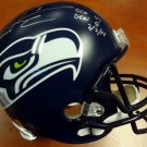 Russell Wilson Signed Autographed Seattle Seahawks Full Size Limited Edition Helmet RW COA
