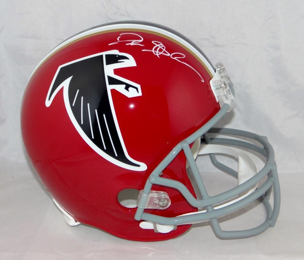 Deion Sanders Autographed Signed Atlanta Falcons Full Size Helmet JSA