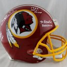Joe Theismann Autographed Signed Washington Redskins FS Proline Helmet JSA