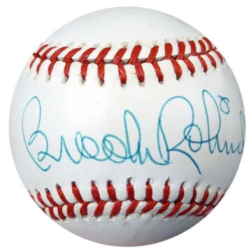 Brooks Robinson Baltimore Orioles Signed Autographed Baseball JSA
