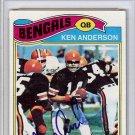 Ken Anderson Cincinnati Bengals Autographed Signed 1977 Topps Card PSA