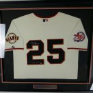 Barry Bonds Signed Autographed San Francisco Giants Majestic Jersey BB COA