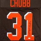 Nick Chubb Signed Autographed Cleveland Browns Jersey JSA